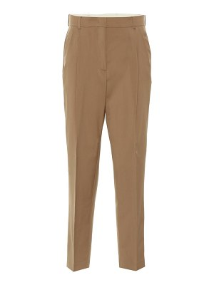 N°21 high-rise straight wool pants