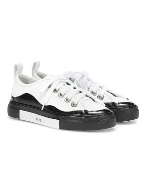 N°21 gymnic dipped leather sneakers