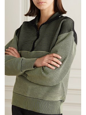 Nagnata space for giants zhen ribbed organic cotton sweatshirt
