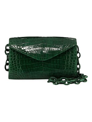 Nancy Gonzalez Amour Small Crocodile Crossbody Bag