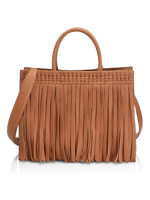 Nancy Gonzalez emma fringe tote bag