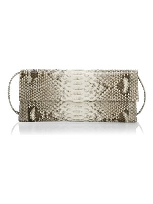 Nancy Gonzalez large gotham python clutch