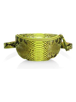 Nancy Gonzalez small lola python belt bag
