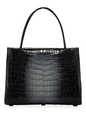 Nancy Gonzalez Willis Medium Crocodile Top-Handle Bag