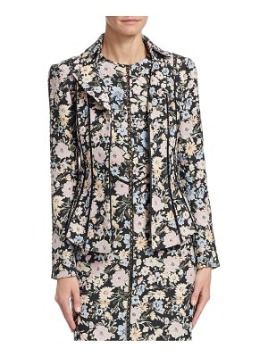 Nanette Lepore floral-print playwright jacket