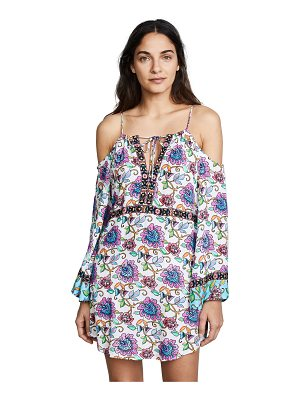 Nanette Lepore rosarito off the shoulder cover up