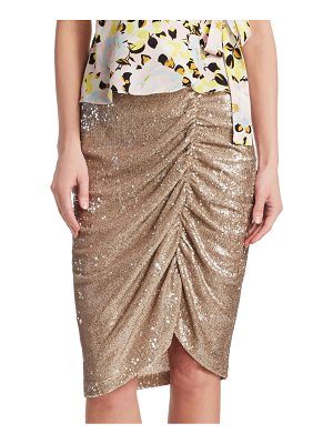 Nanette Lepore silver screen skirt