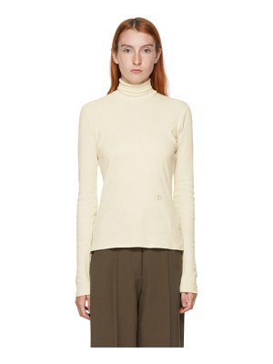 Nanushka beige harri turtleneck