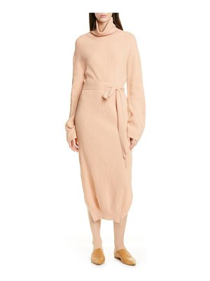 Nanushka canaan long sleeve sweater dress