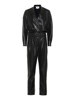 Nanushka exclusive to mytheresa – rocha faux leather jumpsuit