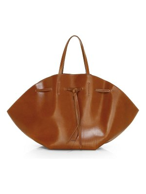 Nanushka lynne convertible leather tote