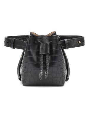 Nanushka minee faux leather belt bag
