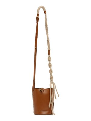 Nanushka mini nia bucket bag
