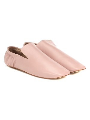 Nanushka noa faux leather loafers