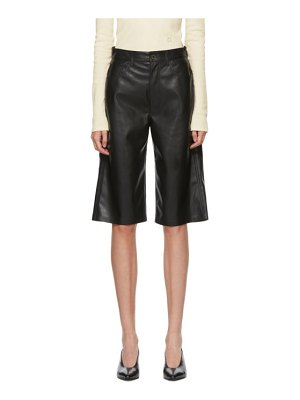 Nanushka vegan leather nampeyo shorts