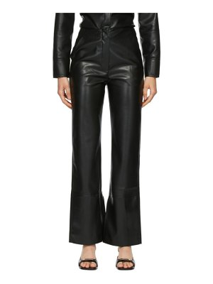 Nanushka vegan leather rhyan trousers