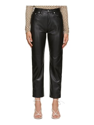 Nanushka vegan leather vinni trousers
