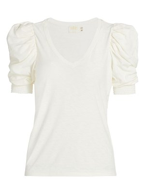 Nation LTD celine puff-sleeve t-shirt