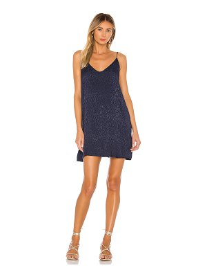 Nation LTD penelope v back slip dress