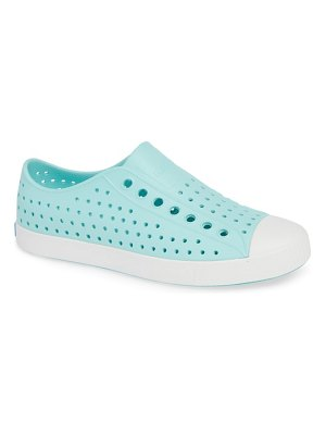 Native Shoes jefferson cap toe perforated sneaker