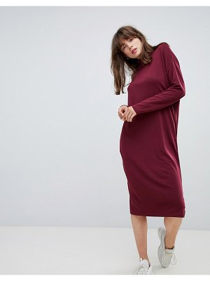 Native Youth Roll Neck Midi Sweater Dress