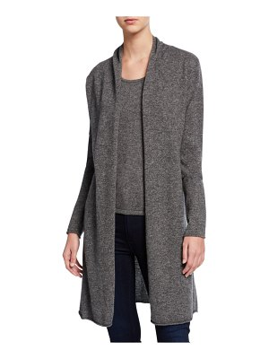 Neiman Marcus Cashmere Collection Basic Cashmere Duster Cardigan