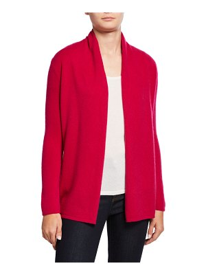 Neiman Marcus Cashmere Collection Cashmere Open-Front Cardigan