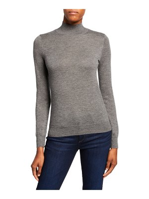 Neiman Marcus Cashmere Collection Superfine Cashmere Turtleneck Sweater