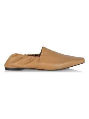 Neous alba leather mules