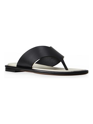 Neous Lanke Leather Flat Thong Sandals
