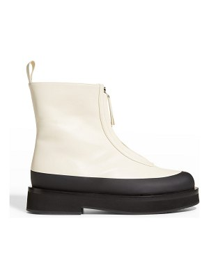 Neous Malmok 30mm Two-Tone Leather Booties
