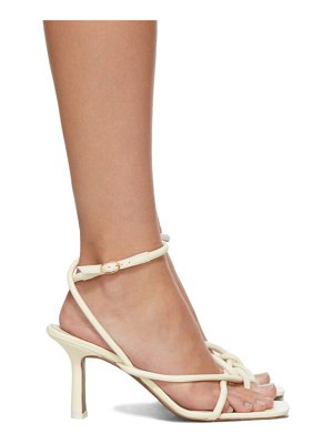 Neous off-white alkes 80 heeled sandals
