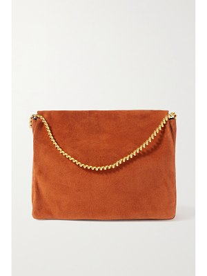 Neous orbit suede shoulder bag