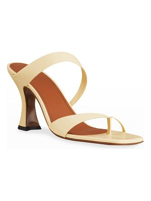 Neous Sika Toe-Ring Leather High-Heel Sandals