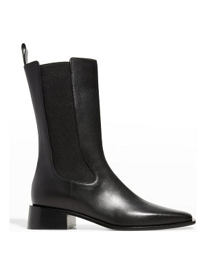 Neous Square-Toe Leather Chelsea Boots