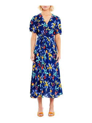 Never Fully Dressed seville zsa zsa wrap front dress