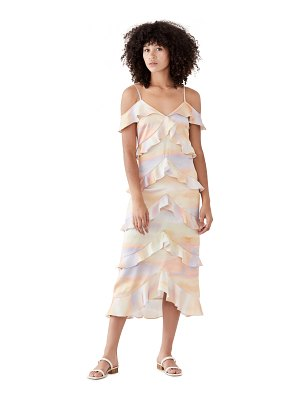Never Fully Dressed sunset tiered dress
