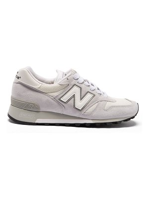 New Balance 1300 suede and mesh trainers