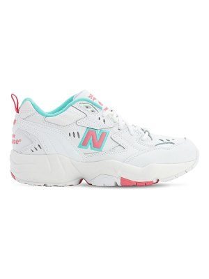 New Balance 608 leather sneakers