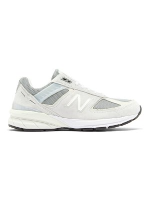 New Balance 990 suede and mesh trainers