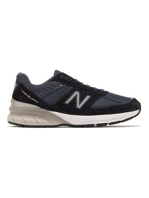New Balance 990v5 suede and mesh trainers