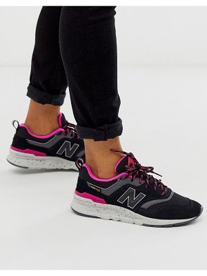 New Balance 997h black sneakers