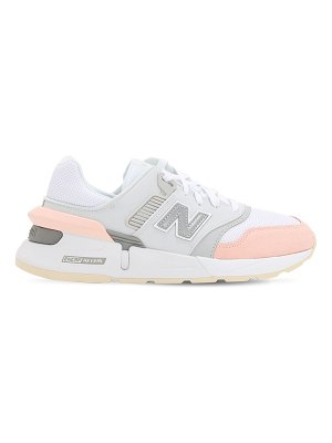 New Balance 997s suede & mesh sneakers
