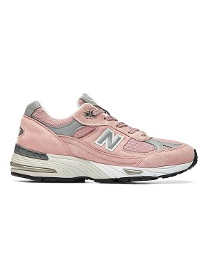 New Balance made in england 991 suede and leather trainers