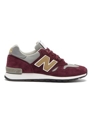 New Balance made in uk 670 suede and mesh trainers