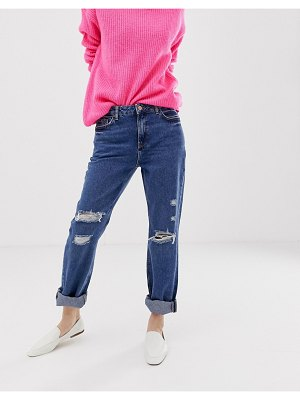 New Look boyfriend jeans with rips