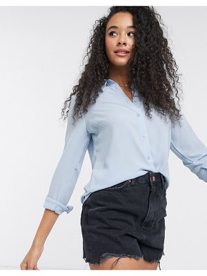New Look button down shirt in light blue