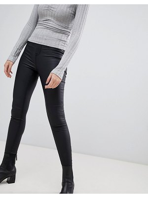 New Look coated jeggings