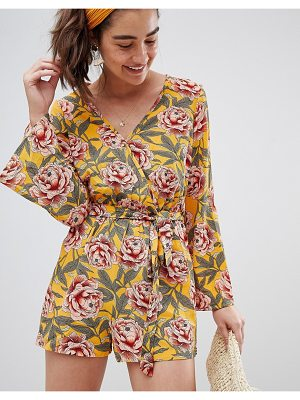 New Look floral romper