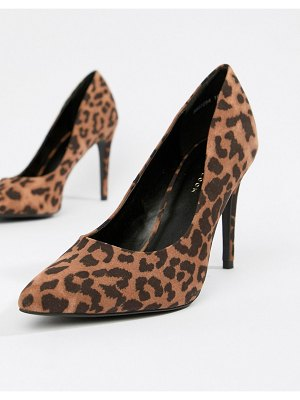 New Look Leopard Court Shoe